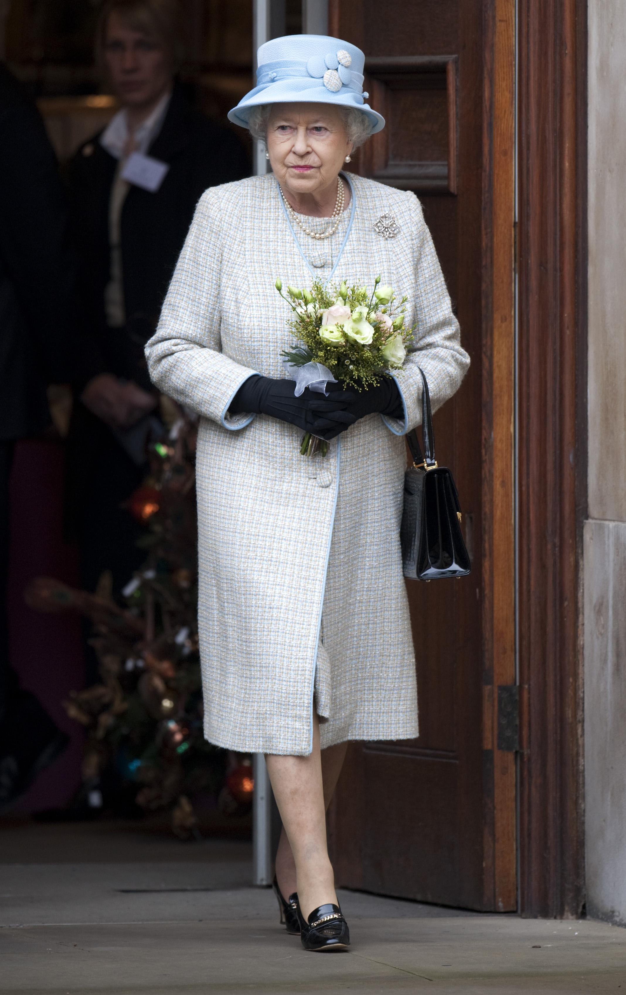 Królowa Elżbieta II w ulubionych butach