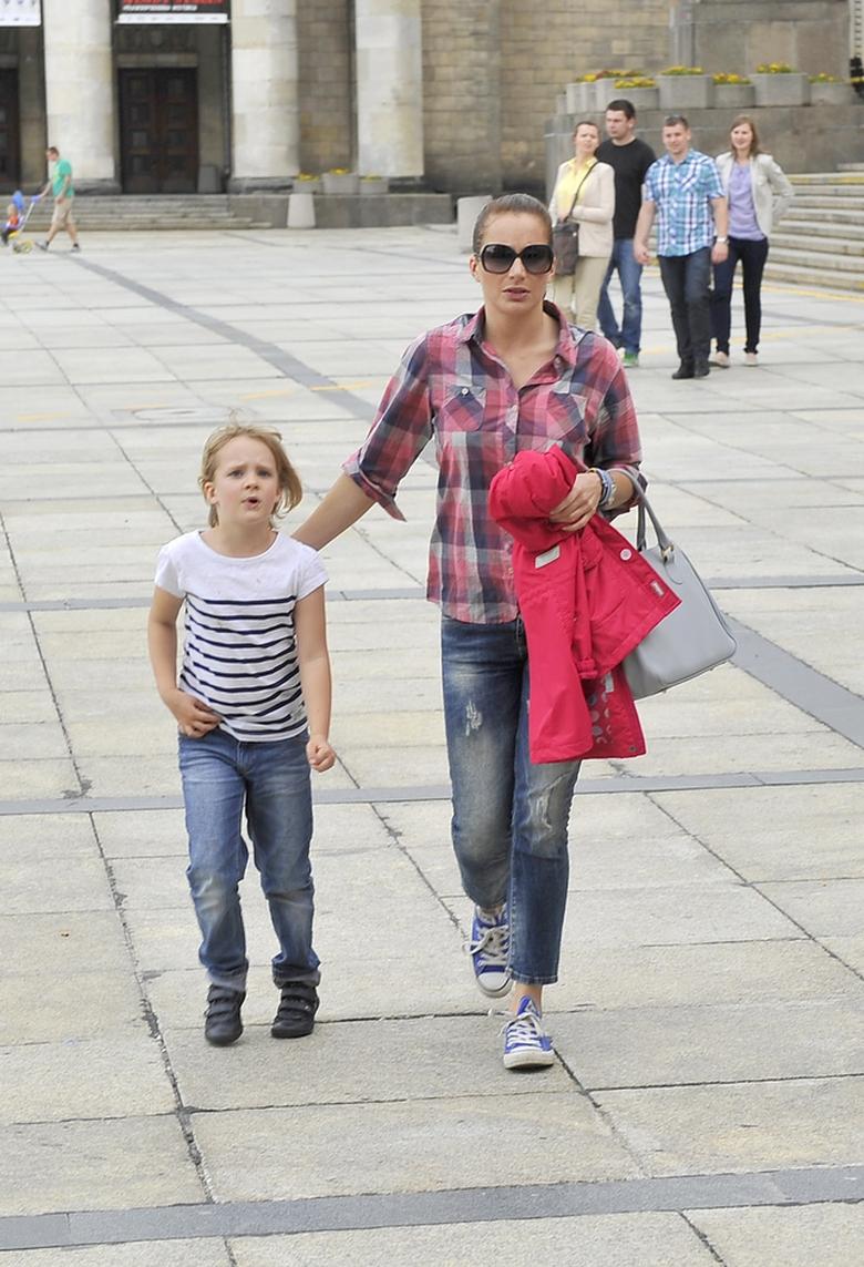 Anna Dereszowska z córką Leną