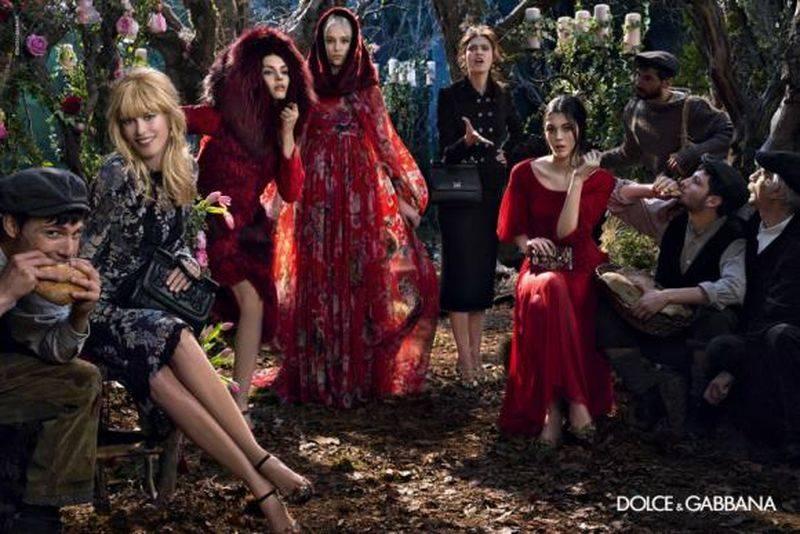 Claudia Schiffer w kampanii Dolce&Gabbana