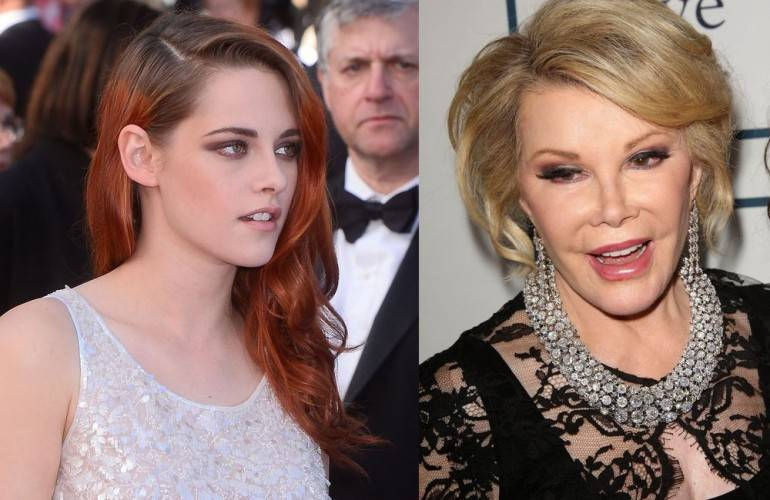 Kristen Stewart, Joan Rivers