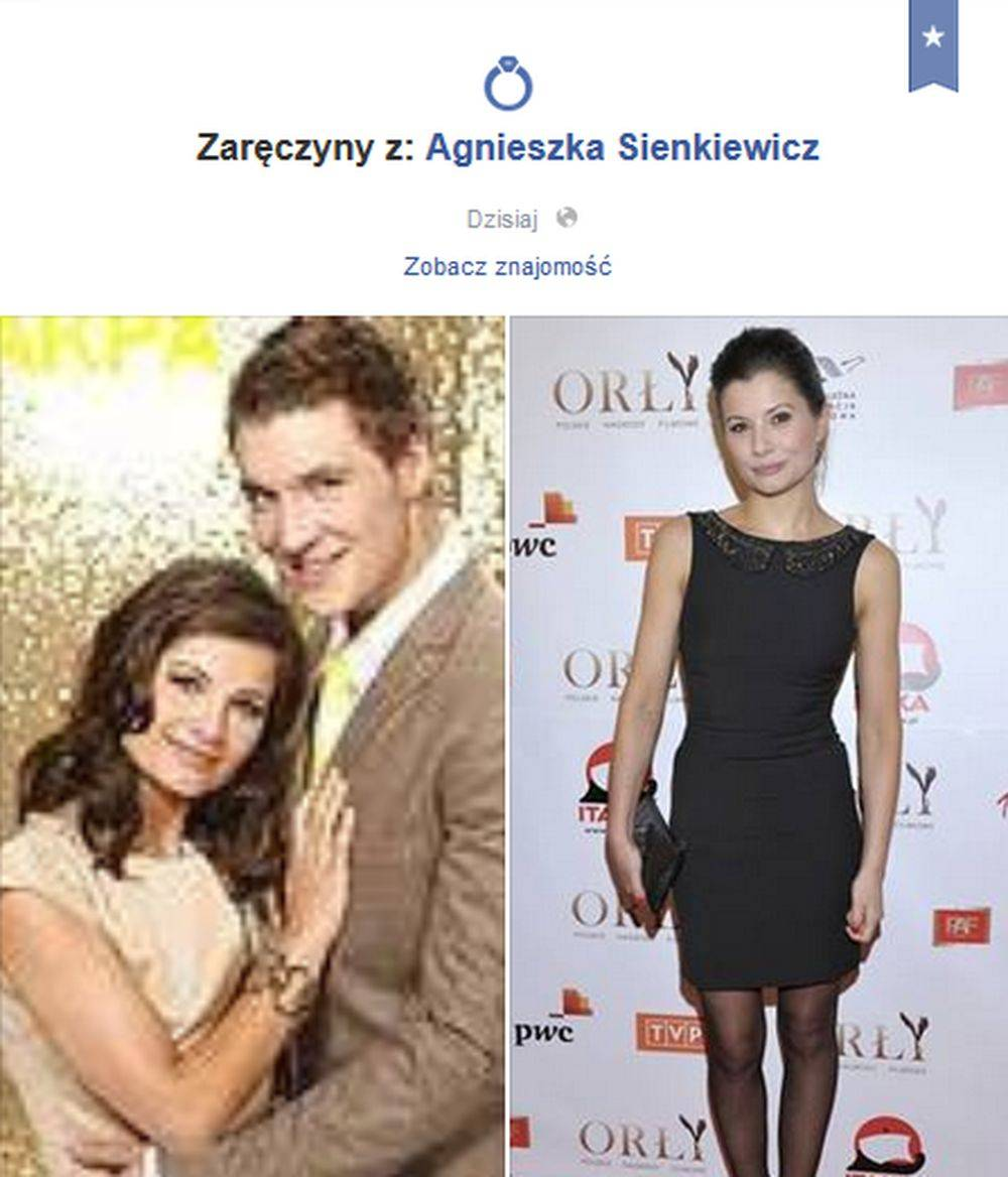 Mikołaj Roznerski i Agnieszka Sienkiewicz