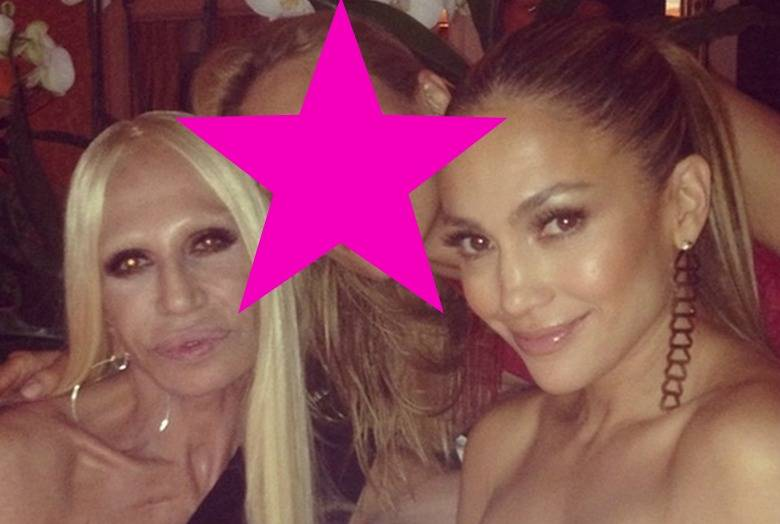 Donatella Versace i Jennifer Lopez