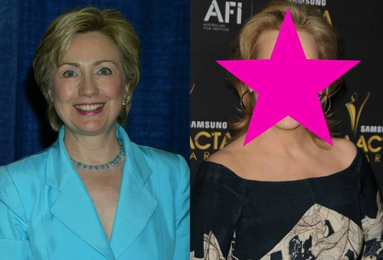 Hilary Clinton Meryl Streep1