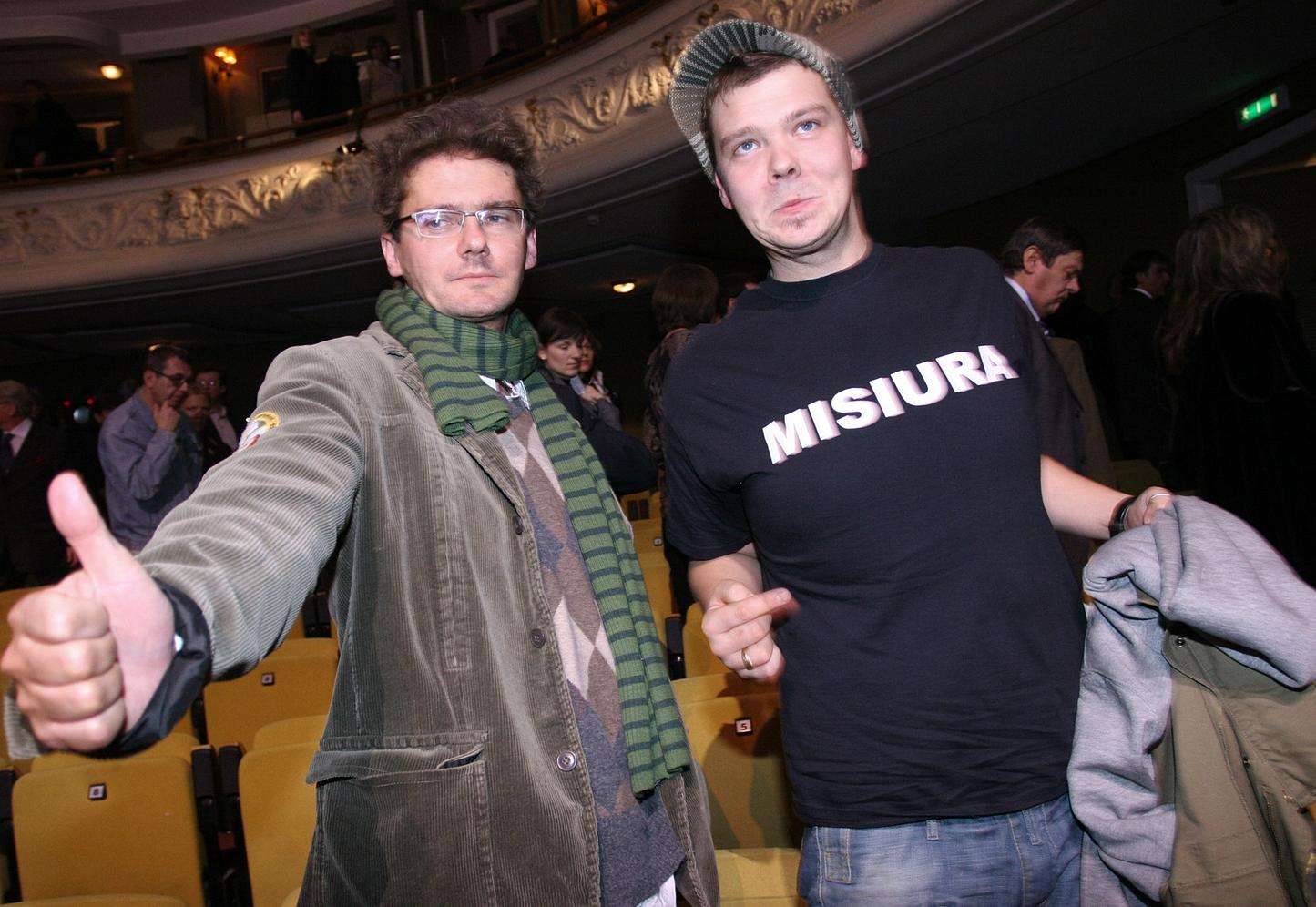 Michał Figurski i Kuba Wojewódzki