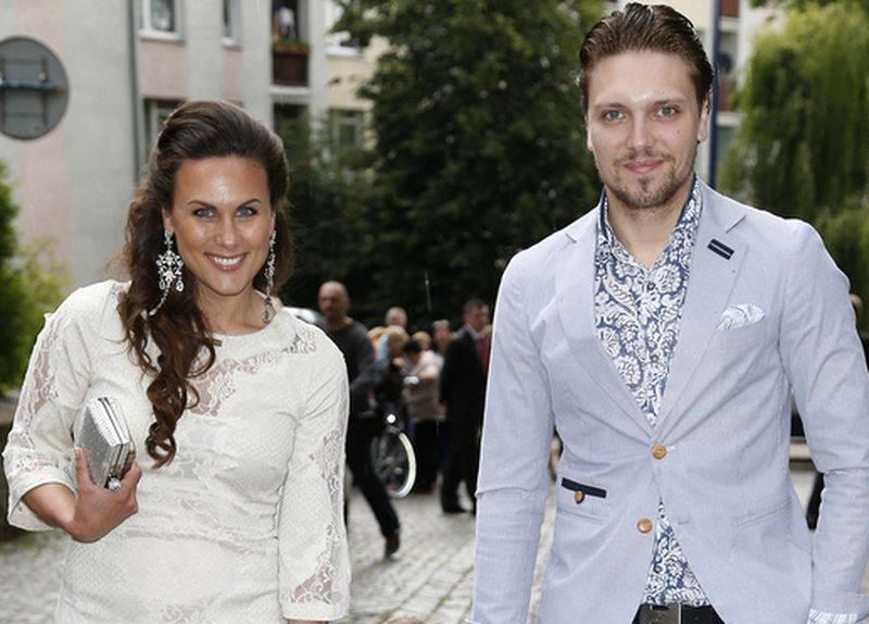 Żora Korolyov z żoną