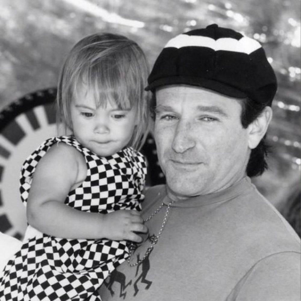 Robin Williams i Zelda Williams