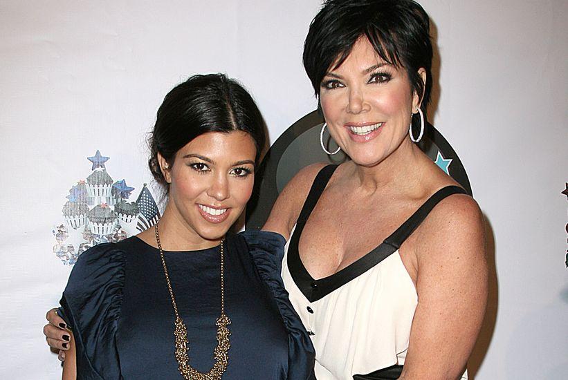 Kourtney Kardashian, Kris Jenner
