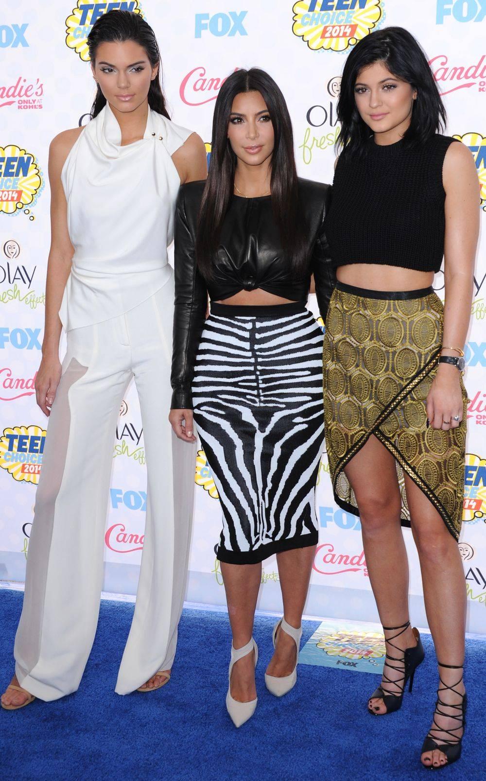 Kylie Jenner i Kim Kardashian kłócą się o Instagram
