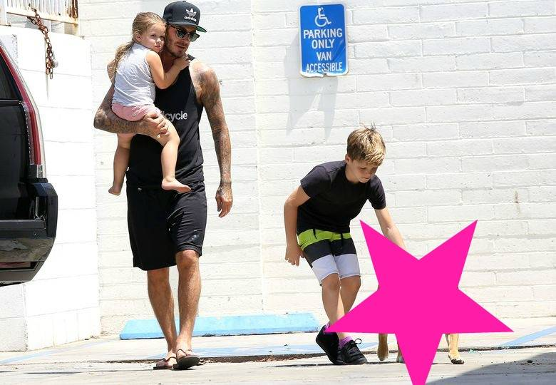 David Beckham, Harper Seven i Cruz Beckham