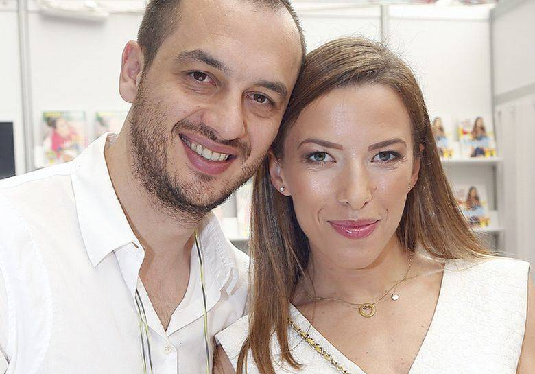 Lefteris Kavoukis i Ewa Chodakowska