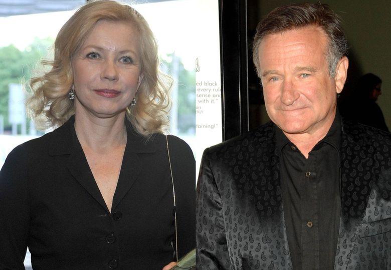 Małgorzata Zajączkowska i Robin Williams