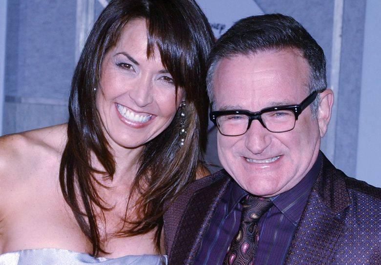 Susan Schneider i Robin Williams