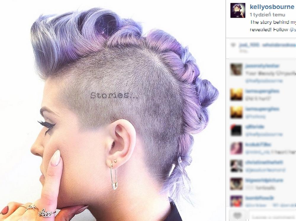 Ta Gwiazda Zrobiła Sobie Tatuaż Na Głowie żeby Wypromować