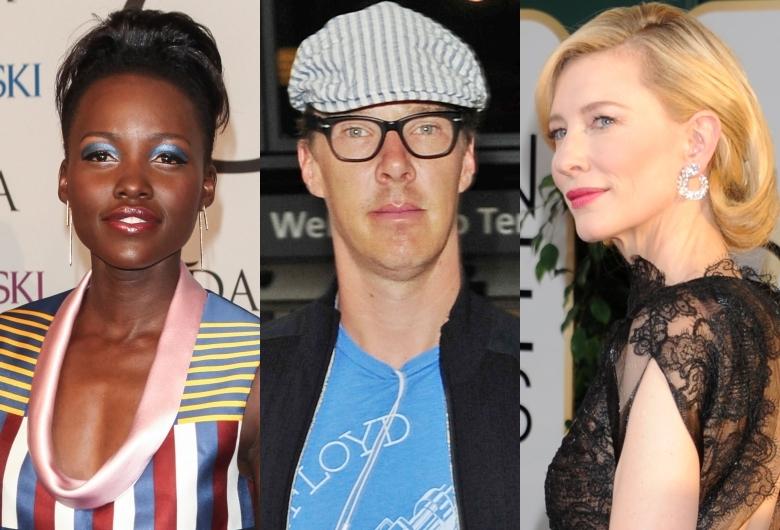 Cate Blanchett, Benedict Cumberbatch, Lupita Nyong'o