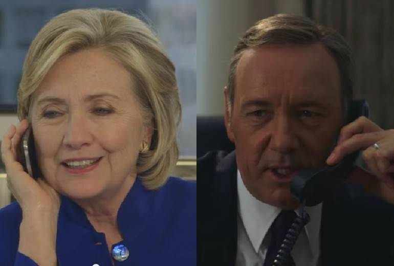 Hillary Clinton, Kevin Spacey