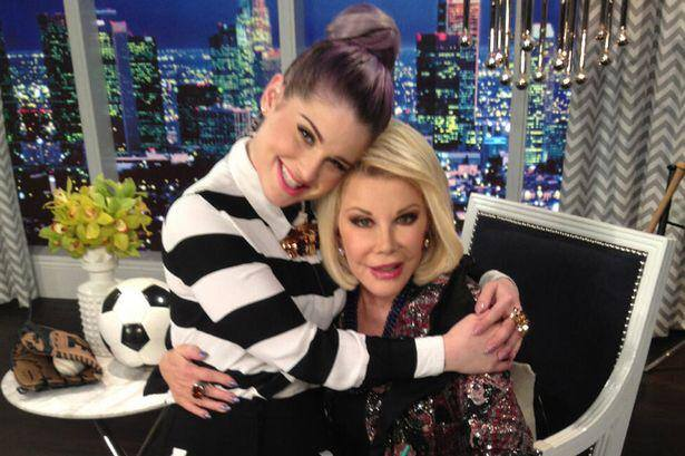Joan Rivers i Kelly Osbourne