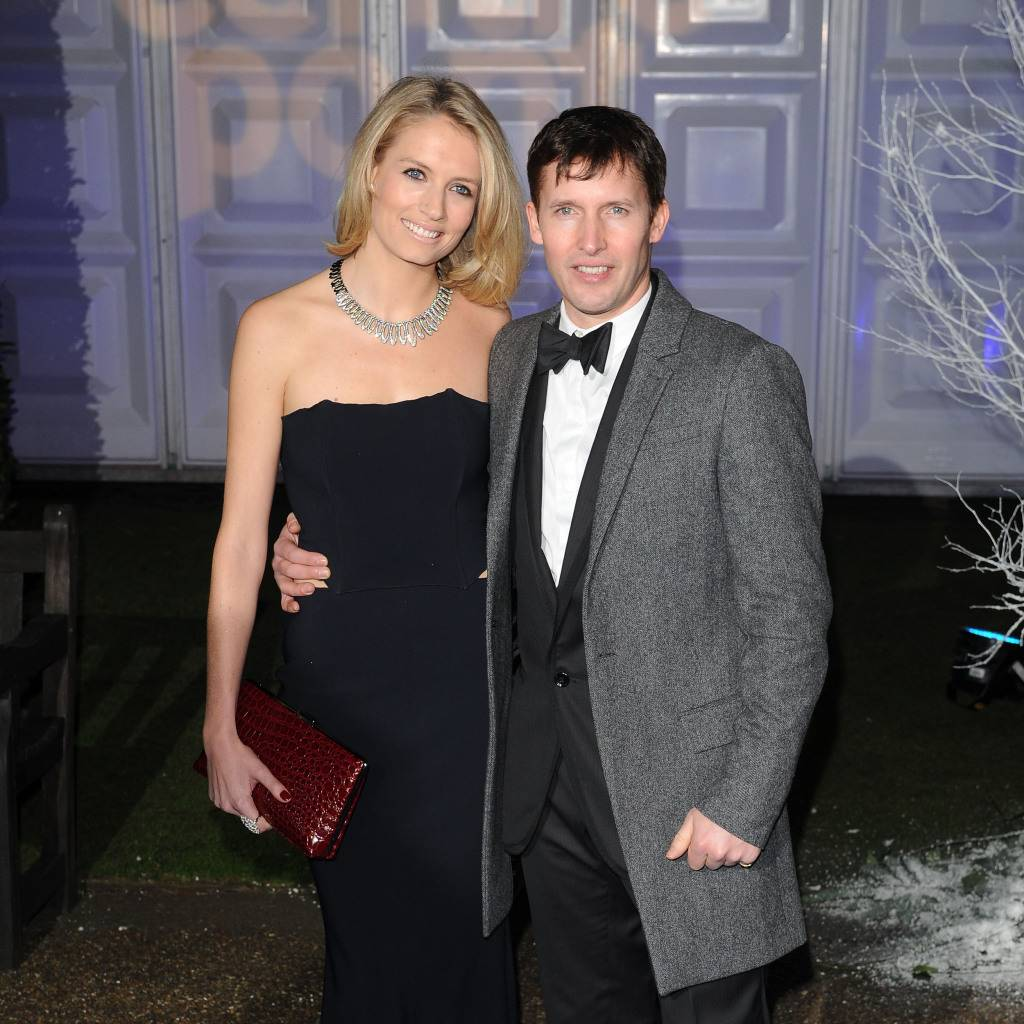 James Blunt i Sofia Wellesey