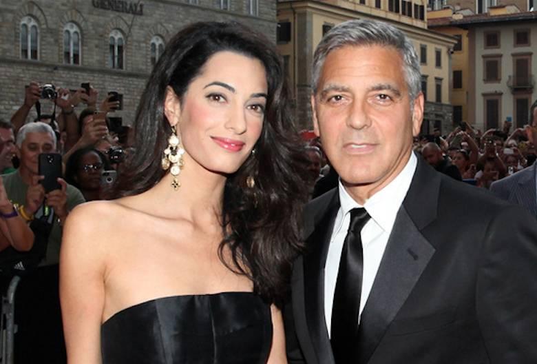 Amal Alamuddin, George Clooney