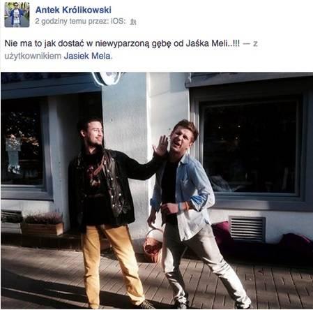 Antek Królikowski, Jan Mela