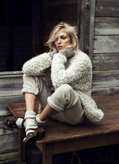 Anja Rubik, Vogue Paris, October Issue