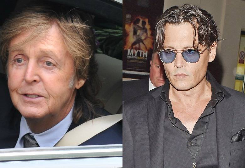 Johnny Depp, Paul McCartney