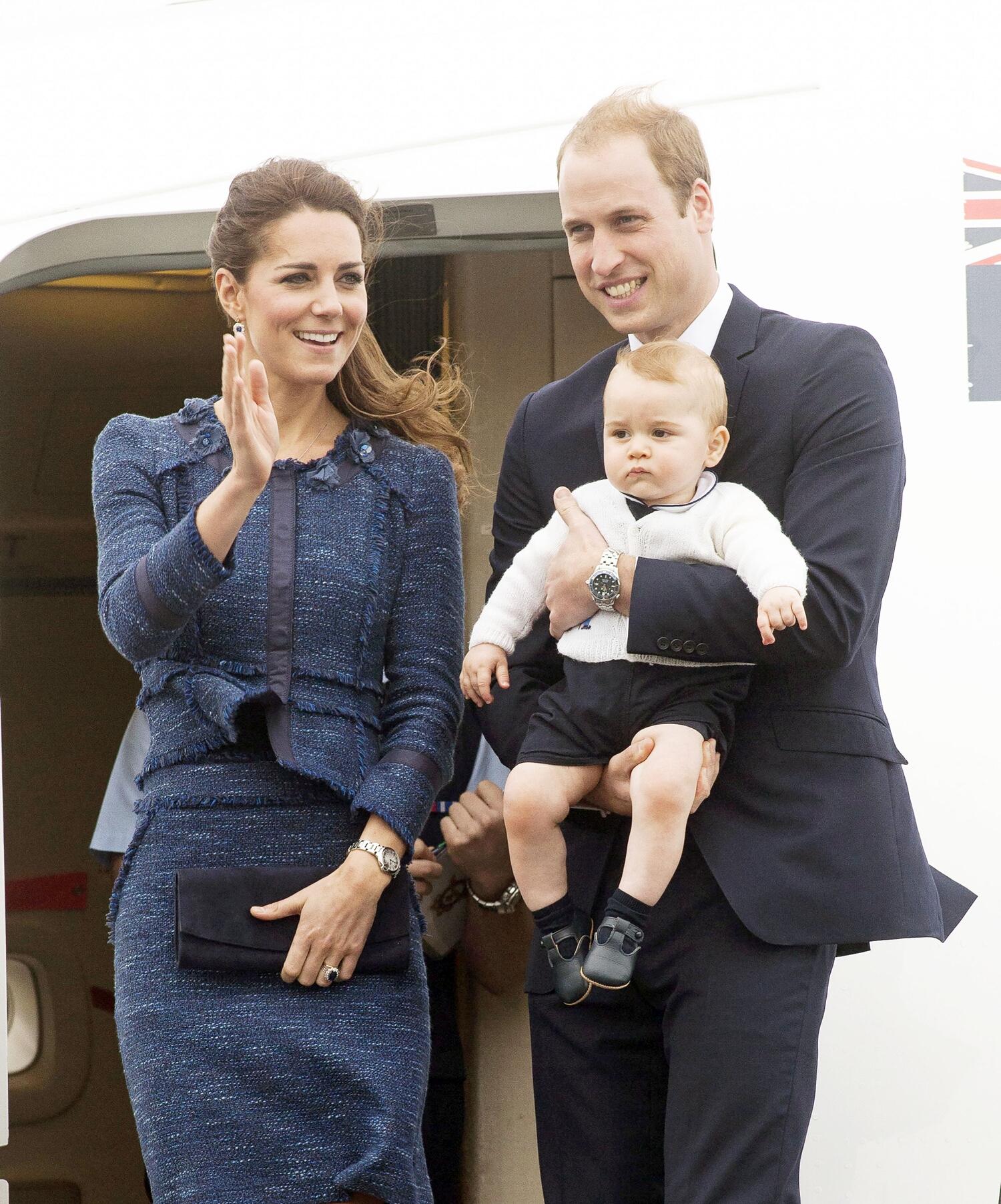 Książę Jerzy, Księżna Kate, Książę William