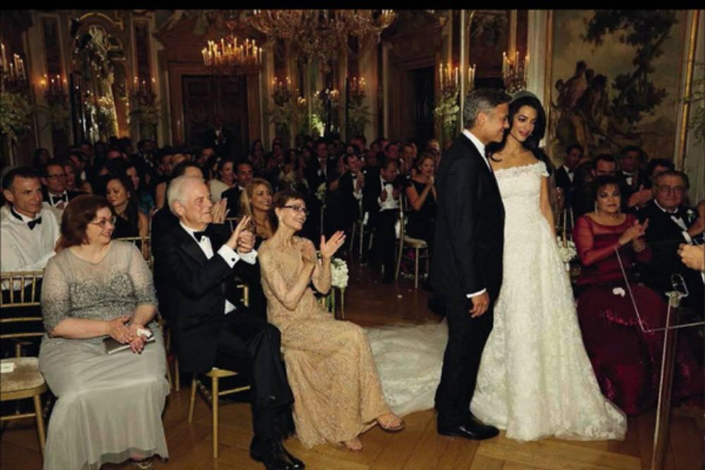 Amal Alamuddin i George Clooney