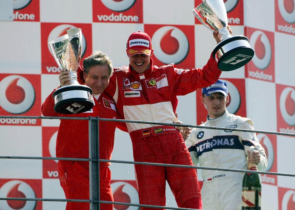 Michael Schumacher, Robert Kubica