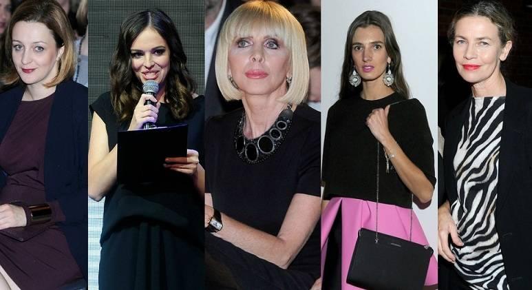 Grażyna Kulczyk, Anna Wendzikowska, Lidia Popiel, Kamila Szczawińśka, Ewa Wojciechowska
