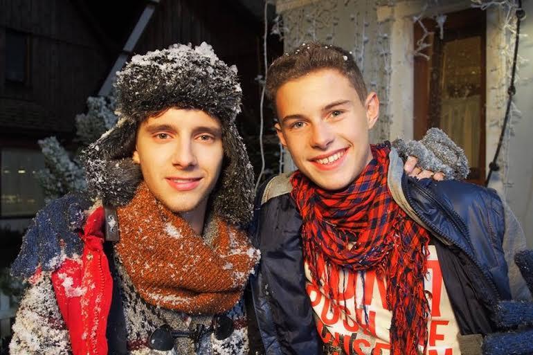 Maciej Musiał i Adam Zdrójkowski