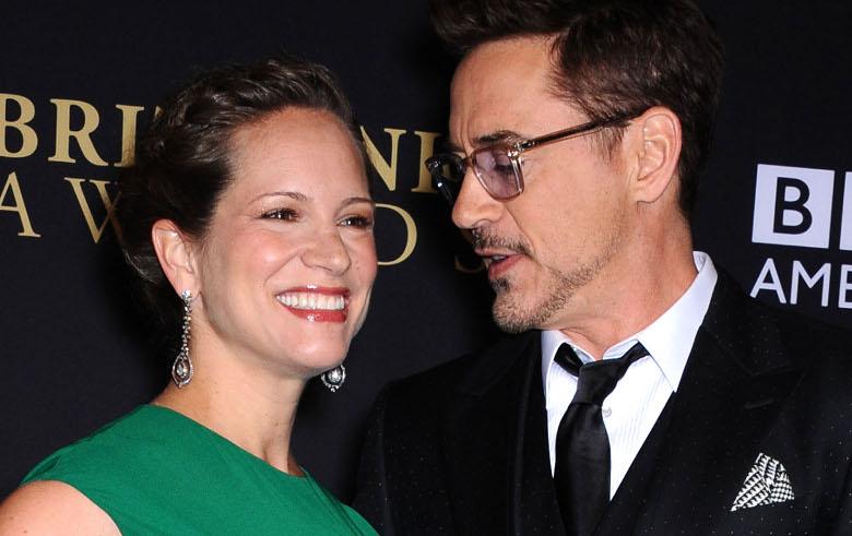 Robert Downey Jr i jego żona Susan Downey