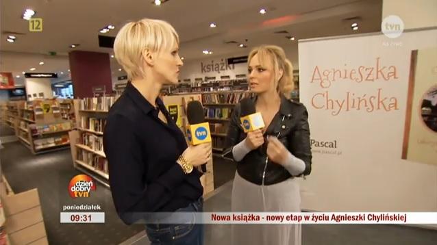 Agnieszka Chylińska i Agnieszka Jastrzębska