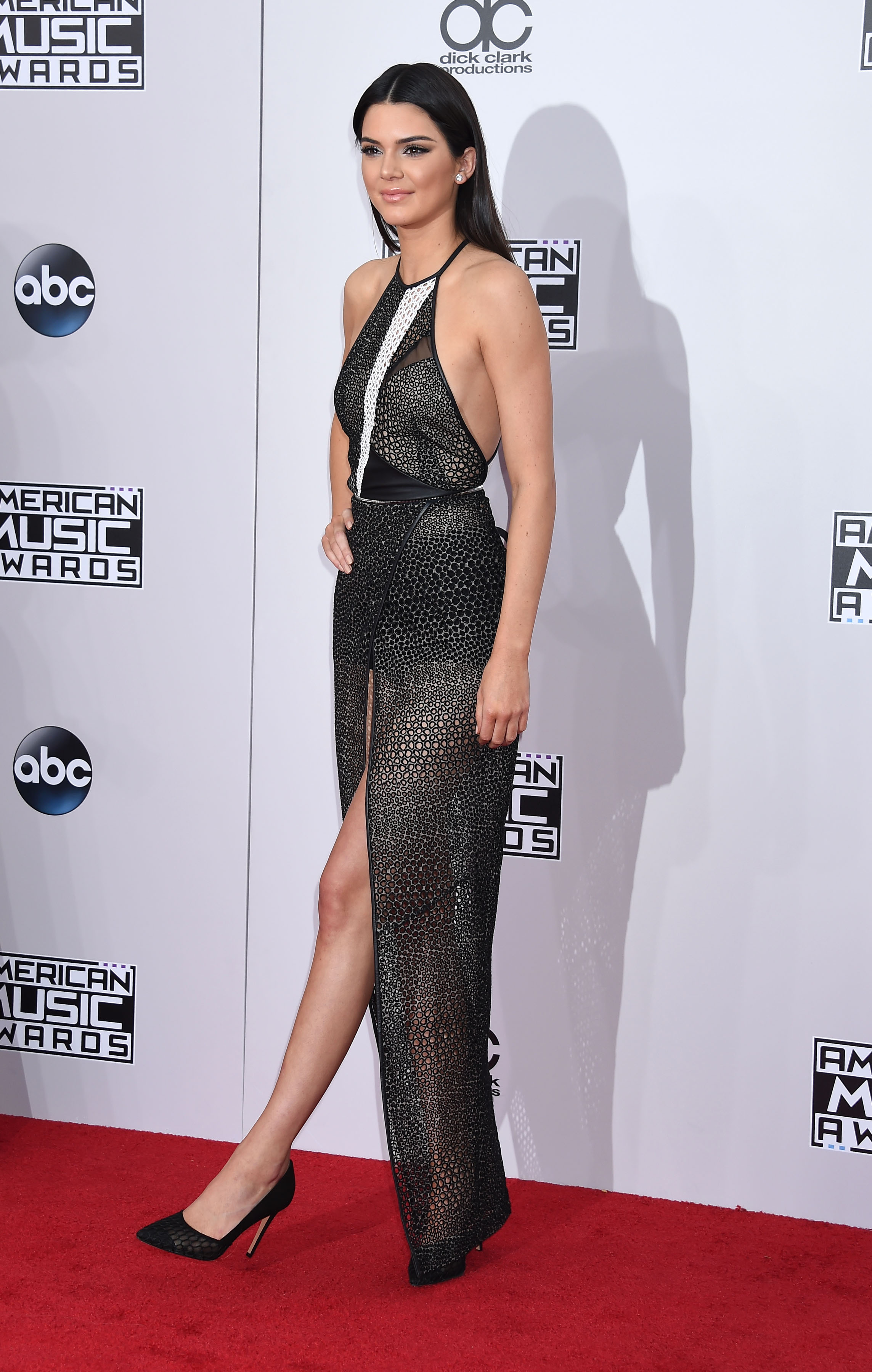 Kendall Jenner na rozdaniu American Music Awards 2014