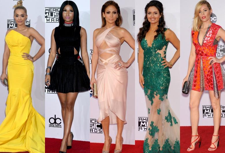 Gwiazdy na rozdaniu American Music Awards 2014