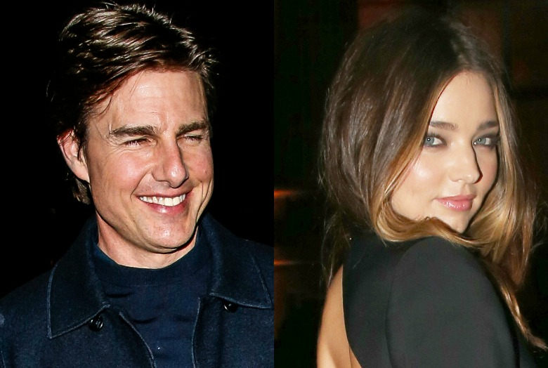 Miranda Kerr i Tom Cruise
