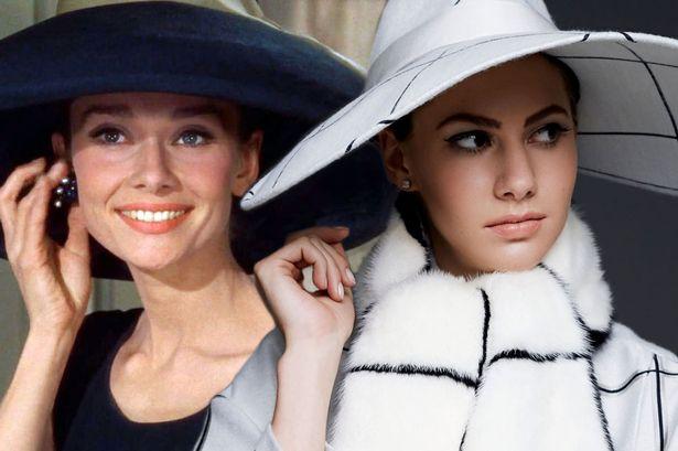Emma Ferrer i Audrey Hepburn