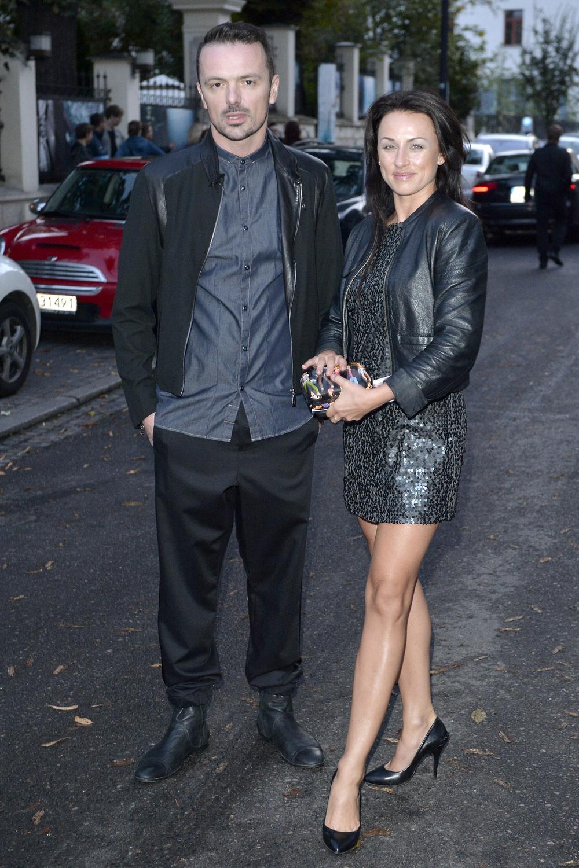 Kamila Kajak z mężem
