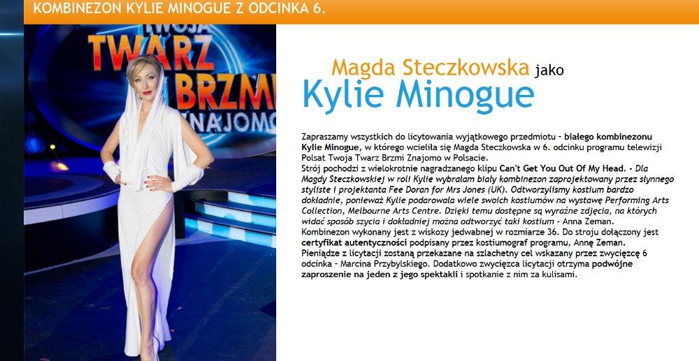 Kombinezon Kylie Minogue