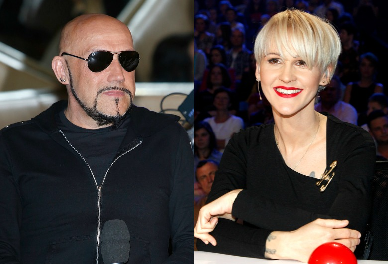 Agnieszka Chylińska i Grzegorz Skawiński
