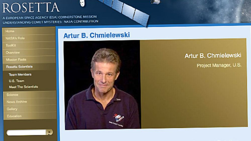 Art Chmielewski Fot. screen z ESA