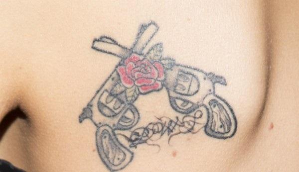 Tatuaż Agnieszki Szulim