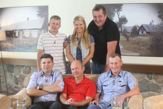 Uczestnicy pierwszej edycji programu Rolnik szuka żony