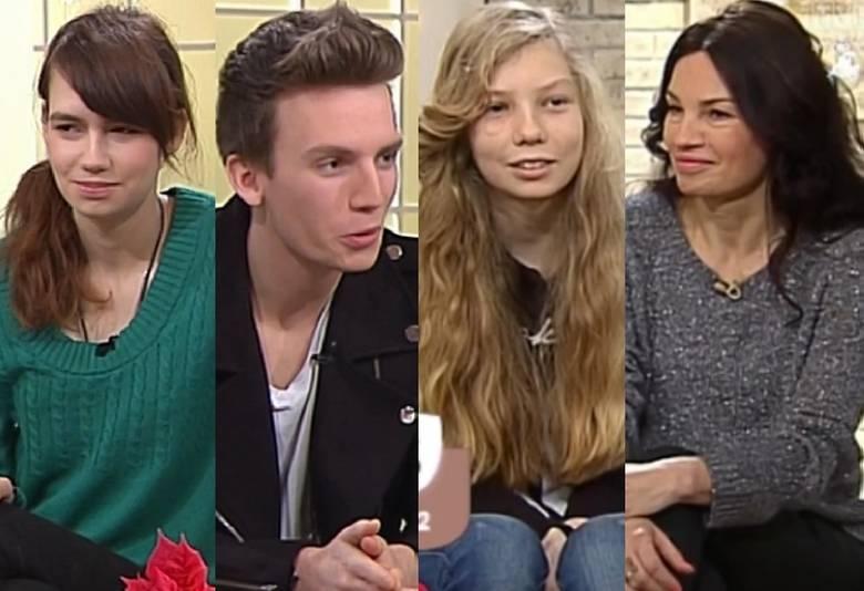 Helena Ciechowska, Brunon Ciechowski, Józefina Ciechowska i Anna Skrobiszewska
