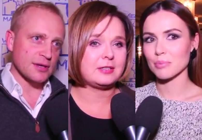 Piotr Adamczyk, Beata Jungowska i Marta Żmuda Trzebiatowska