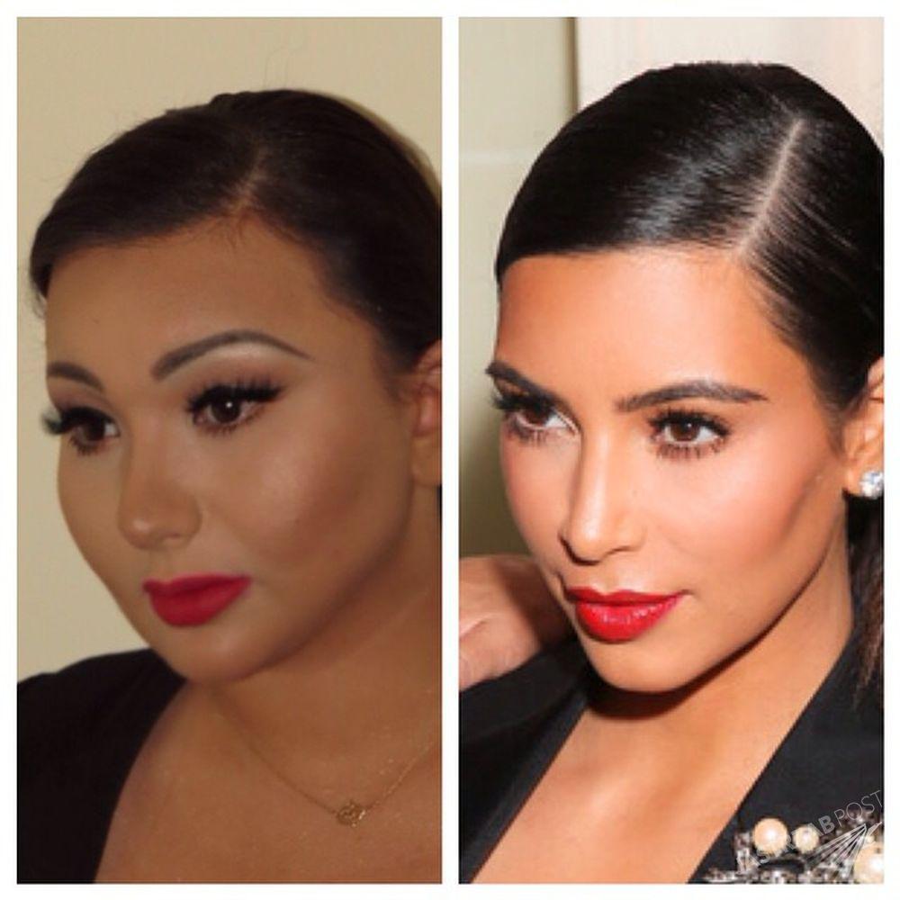 Wiktoria Grycam a la Kim Kardashian