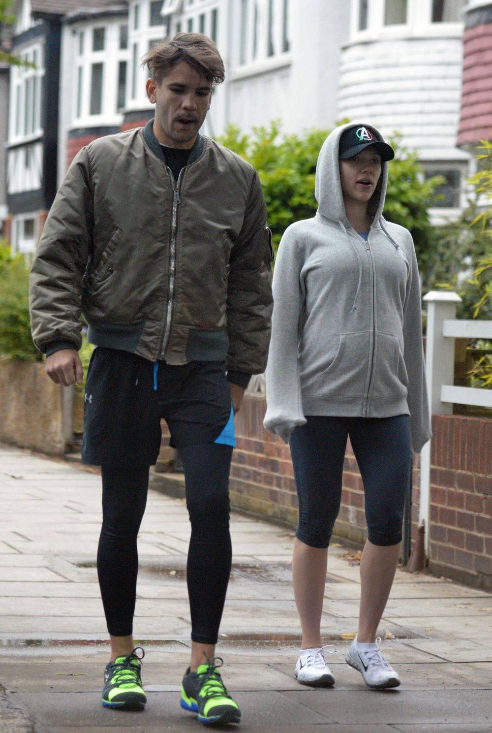 Scarlett Johansson i Romainem Dauriacem
