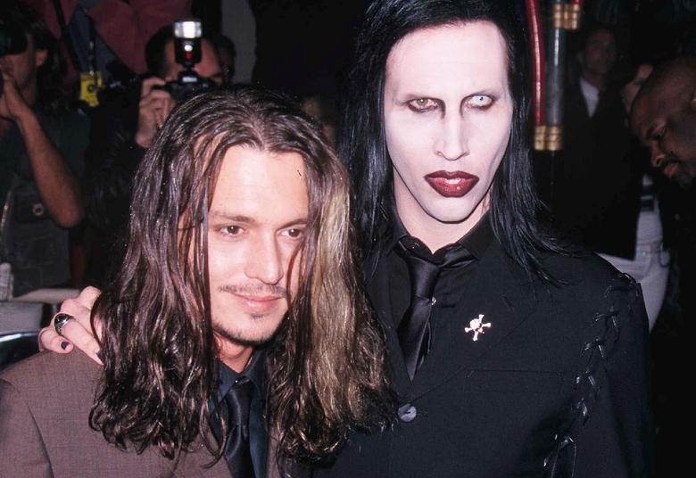Johnny Depp i Marylin Manson
