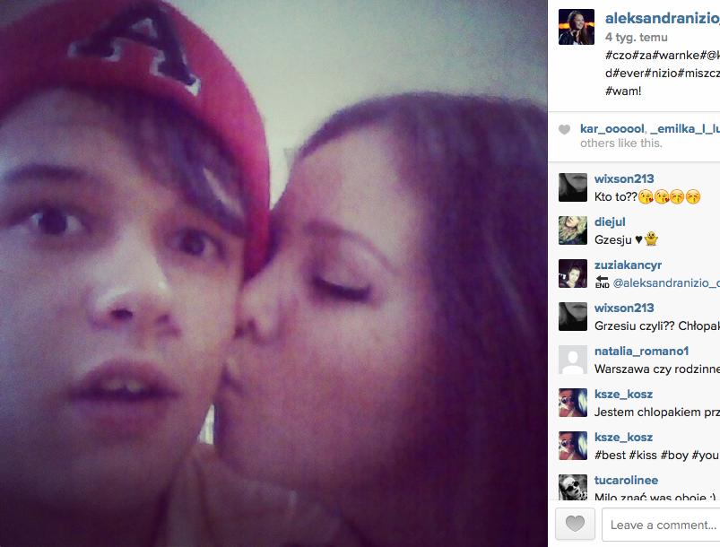 Ola Nizio z chłopakiem Grzegorzem Warnke Fot. instagram