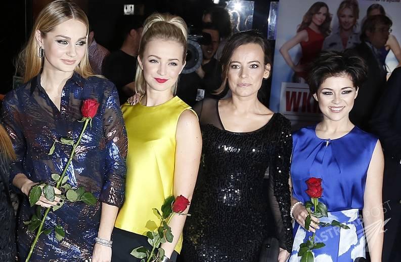Małgorzata Socha, Barbara Kurdej-Szatan, Katarzyna Cichopek i Anna Mucha