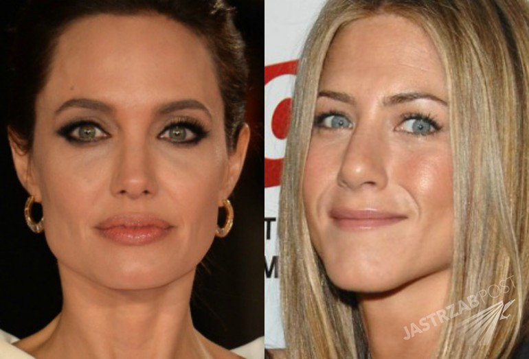 Jolie i Aniston
